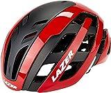Lazer Casco Century (S) Ciclismo, Adultos Unisex, Rojo/Negro(Multicolor)
