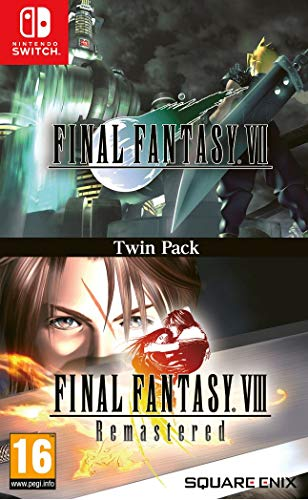 Final Fantasy VII & Final Fantasy VIII Remastered Twin Pack - Nintendo Switch