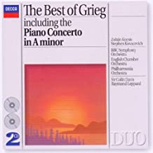 The Best of Grieg including the Piano Concerto in A minor