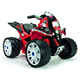 INJUSA - Quad The Beast 12V Color Rojo, 80.0 x 59.9 x 56.9 (761)