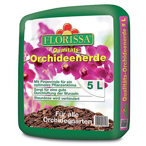 Florissa 48170 Orchideenerde (5 l), Braun