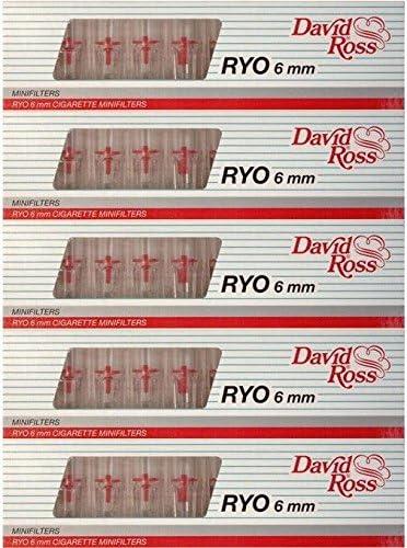 Amazon.com: David Ross Micro 10 Cigarette Filters 6 mm Virginia Slims (5) : Health & Household