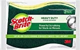 Scotch-brite Heavy Duty Scrub Sponge 426, 6-Count (Pack of 2)