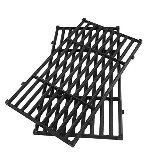 WELL GRILL 2-Pack 44.5 cm 7637 Cooking Grate Replacement Parts for Weber Spirit 200 Serie, Spirit E-210, E-220, S-210, S-220 Gas Grills BBQ Grid Replacement Parts