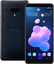 HTC U12 Plus (2Q55100) 6.0 inchs with 6GB RAM / 128GB Storage, (GSM ONLY, NO CDMA) Factory Unlocked International Version No-Warranty Cell Phone (Translucent Blue)