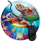 Mouse Pad for Computers,Gaming Mouse-Pads Office for Laptop Mouse Mat for PC Non Slip Mice Pad Sea Turtles Underwater Ocean 2T1273