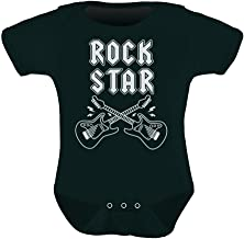 Rock Star Unisex Infant Grow Vest Boy Girl Baby Bodysuit