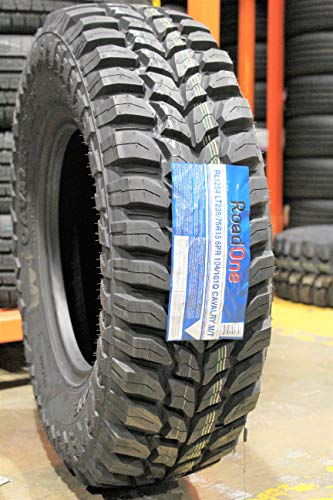 Road One Cavalry M/T Mud Tire RL1254 235 75 15, LT235/75R15, C Load Rated