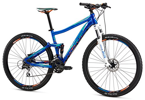 Mongoose Salvo Sport 29″ Wheel Mountain Bicycle, Blue, 16″/Small