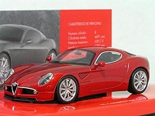1/43 アルファ ロメオ 8C コンペツオーネ (2003) レッド.M