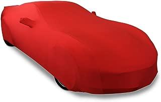 2014-2019 C7 Stingray, Z51, Z06, Grand Sport Corvette Ultraguard Stretch Satin Indoor Car Cover (Red)