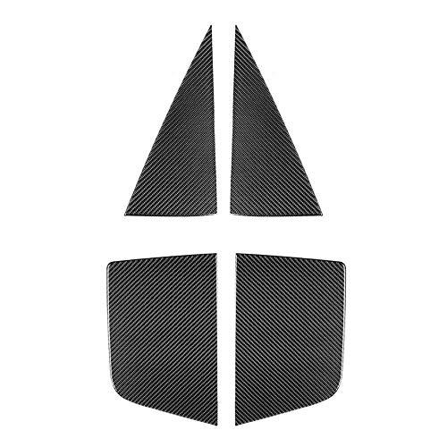 MIOAHD Accesorios de Pegatinas de Cubierta de decoración de Cristal Triangular de...