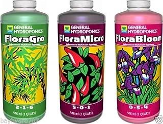 General Hydroponics GH Flora Series 16oz Pints TRIO FloraMicro FloraGrow FloraBloom