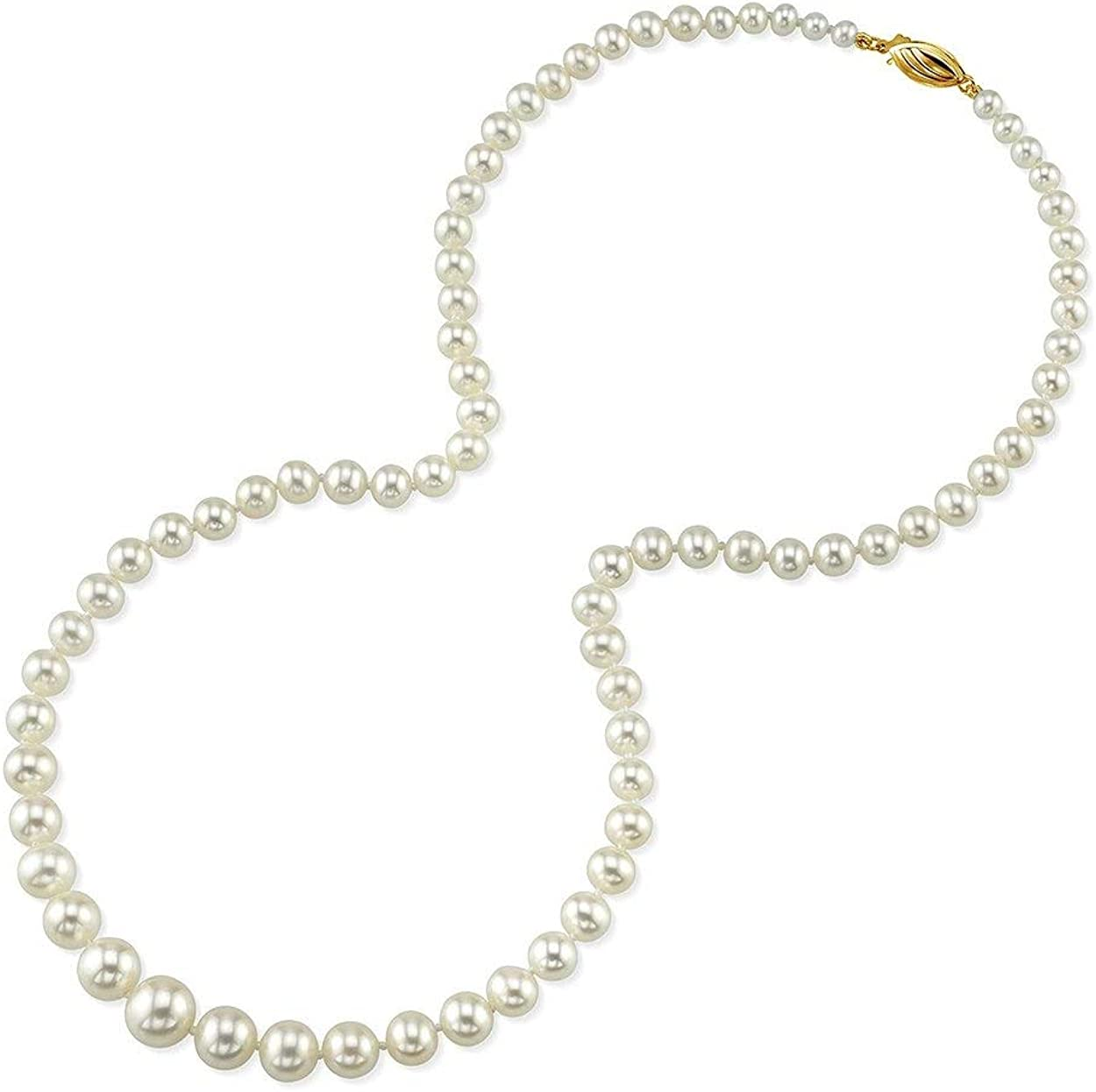 Jewelry Craft Supplies White Pearl Pendant FC434-PG-WH Polished Gold Plated  2 Pcs