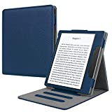 Fintie Flip Case for Kindle Oasis (10th and 9th Gen, 2019 & 2017 Release) - Multi Angle Hands Free Viewing Stand Cover (Auto Wake Sleep Function for 2017 Version Only, Not for 2019 Version), Navy
