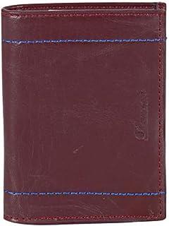 Derkon 1001 Erkek Hakiki Deri Cüzdan bordo