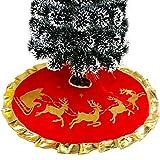 XCSW Faldas para el Árbol, Navidad Decoraciones,Árboles de