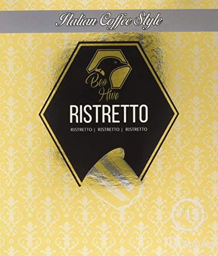 Beo Hive Capsulas Ristretto intensidad 15, Compatible Con Máquina Nespresso, 150 capsulas