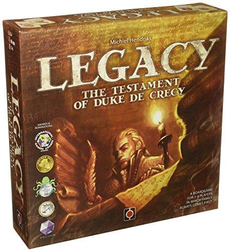 Wydawnictwo Portal POP00323 Brettspiel Legacy: The Testament of Duke de Crecy