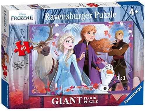 Ravensburger Frozen 2 A Puzzle 60 Pezzi Giant, Multicolore, 03031