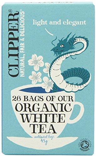 Clipper Té Blanco Orgánico (26) (Paquete de 6)