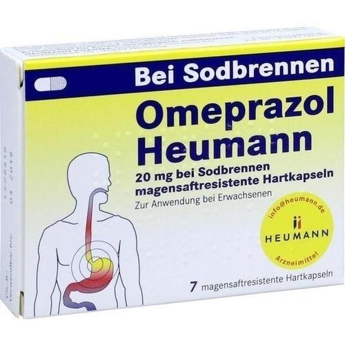 Omeprazol Heumann akut 20mg Hartkapseln 7Stück 7516468