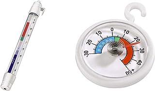 Hama Xavax Thermomètre analogique pour réfrigérateur, freezer ou congélateur, Blanc & Thermomètre analogique pour réfrigér...