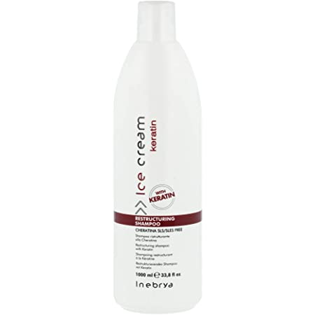 Inebrya Ice Cream Keratin Restructuring Shampoo - 1000 Ml