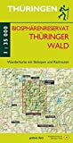 Wanderkarte Biosphärenreservat Thüringer Wald: Mit Ilmenau, Masserberg, Neustadt/Rennsteig, Schleusingen, Oberhof, Schmiedefeld/Rennsteig, Suhl Mit ... zu Fuß erleben / Wanderkarten, 1:35.000)
