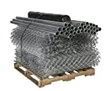 Mutual Industries 14987-180-50 Super Silt Fence Kit, 300'