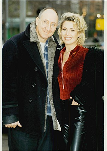 Kim Wilde and Pete Townshend