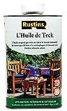 Rustins (Teak Oil) L'Huile de Teck,pour bois - 250ml