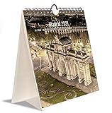 Grupo Erik KALC2103 - Calendario Turístico Combi 2021 Madrid, 16,5 x 18 cm