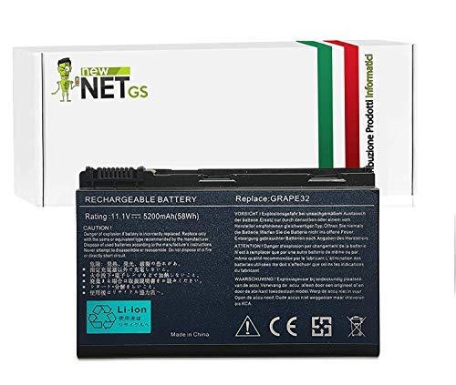 Batteria per Acer TM00742 | TM00751| BT.00603.024 da 5200mAh 10.8/11.1V per Acer Extensa 5000 5630 5230E 5630Z 5630EZ 5635EZ
