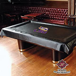 HOOD SPORTS PRODUCTS 11500-LSU LSU DRAPED POOL TABLE COVER