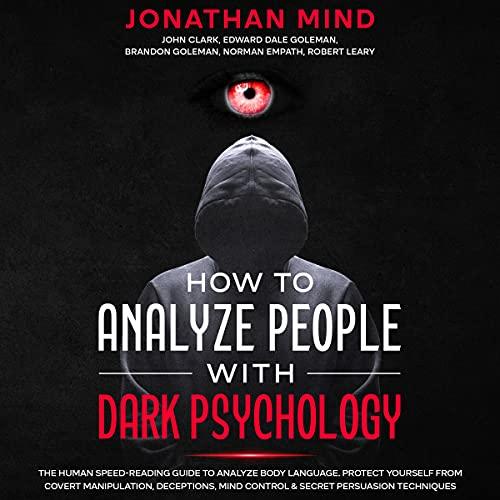 『How to Analyze People with Dark Psychology』のカバーアート