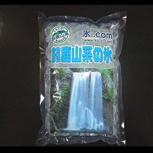微細 砕氷 クラッシュド・アイス 1cm前後 1.1kg 鈴鹿山系純氷 7袋