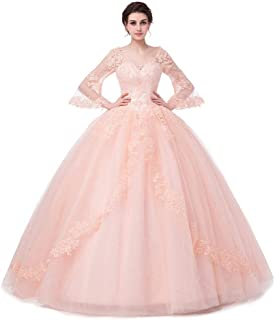 Best prom dresses puffy pink Reviews