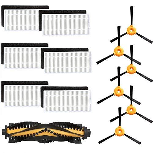 iAmoy Ersatz Ersatzteil Kit Kompatibel mit RoboVac 11 von RoboVac 11c Ecovacs Deebot N79 Deebot N79s Conga Excellence Roboterreiniger,Packung mit 19