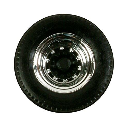 herpa 052597 - Reifen für Auflieger, 12 Sätze, Chrom/schwarz