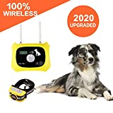 Wireless Dog Fence Pet Containment System, Safe Effective Dual Antenna Design,...