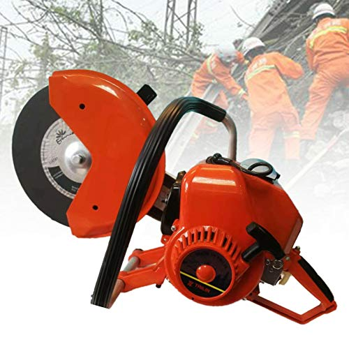 TFCFL 15mm Pro Saw Concrete Cutter Metal Pipe Pavers Cutting Saw+Blade/Oiler/Master Cylind