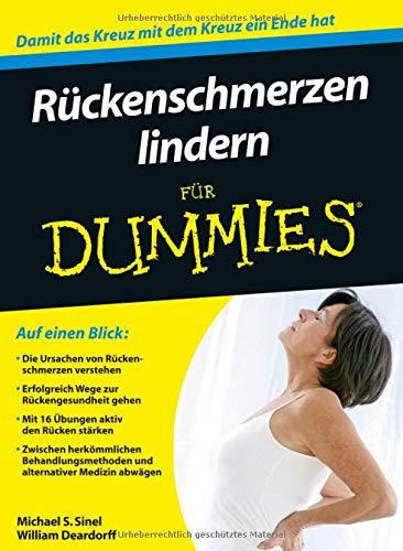 Rückenschmerzen lindern für Dummies