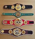 WBC WBA WBO IBF Championships - Cinturón de boxeo (4 unidades)