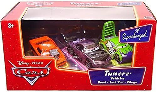 DISNEY CARS TUNERS 3 PACK - BOOST & WINGO & SNOT ROD