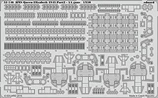 Eduard 1:350 HMS Queen Elizabeth 1943 pt.2 AA Gun PE Detail Set Trumpeter #53146