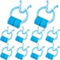 Nose Stop Clips Nasal Nose Stopper Clips Plastic Foam Nose Clips for Emergency or Accident (10)