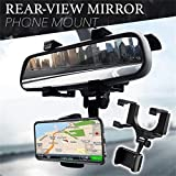 ➢✔[ IMPORTANT NOTE ] : This Car Rearview Mirror Mount Holder has been specifically designed & made High Premium Quality Exactly as seen in the picture ➢✔[ PRODUCT DESIGN ] : Simple, easy installation, beautiful appearance, durable, 240 degree swivel ...