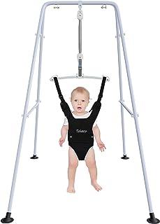 Jersey de bebé con soporte, columpio de bebé, fácil configuración, ejercicio de bebé para bebés activos, adecuado para interiores y exteriores
