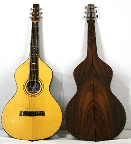 'Musikalia Gitarre Hawaiian Lap Steel Guitar Weissenborn Solide Akustikgitarre Style 4Copy aus Palisander, Lackierung Satin, für Geigenbauer